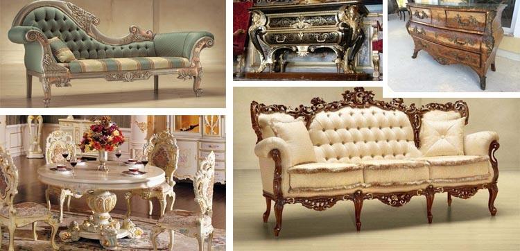 Мебель в барочном стиле
