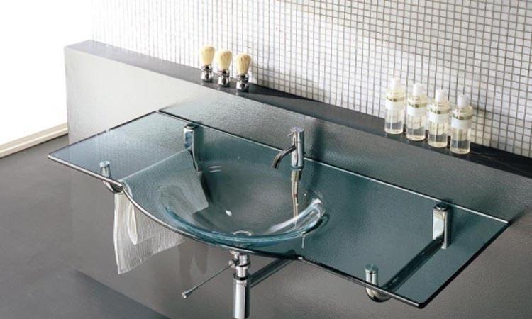стеклянная раковина в ванную комнату фото цена 67989