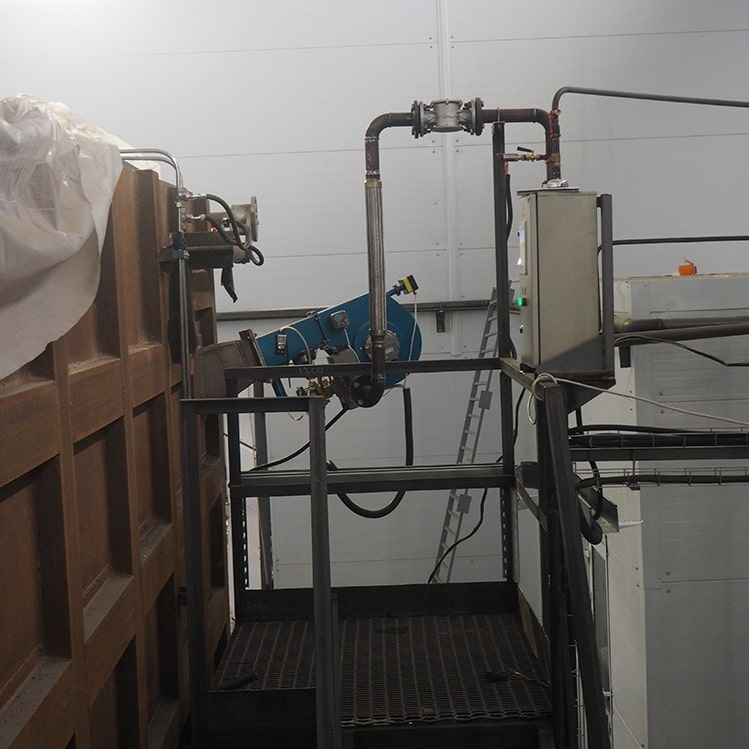 горелка газовая для печей с автоматикой
